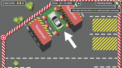 Don't Bump into Anything in Let's Park | Multiplication.com