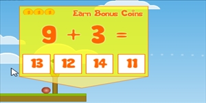 Solve Addition Facts in Addition Knock Down | Multiplication.com