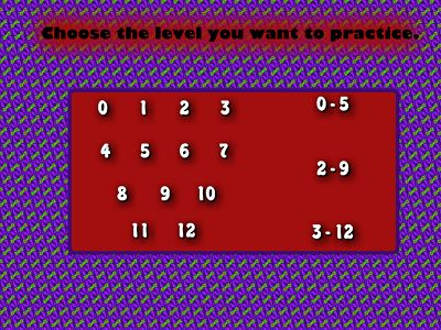 Choose a Fact for Monster Multiplication | Multiplication.com