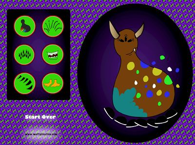 Create Your own Creepy Monster in Monster Multiplication | Multiplication.com