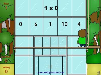 Solve the Facts to Move Up in Math Wash Up | Multiplication.com