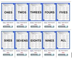 math worksheet : free valentines day multiplication worksheets  multiplication  : Multiplication Squares Worksheet