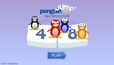 Welcome to Penguin Jump Multiplication | Multiplication.com