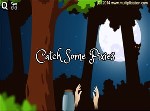Get Ready to Catch Some Pixies in Pixie Catcher Multiplication | Multiplication.com