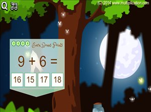 Solve Addition Problems in Pixie Catcher Addition | Multiplication.com