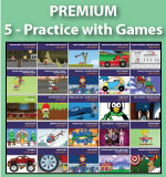 Premium Practice with Games | Multiplication.com