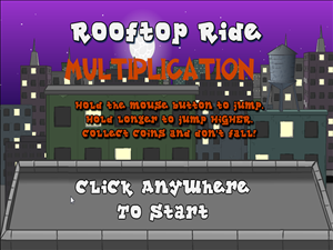 Welcome to Rooftop Ride Multiplication | Multiplication.com