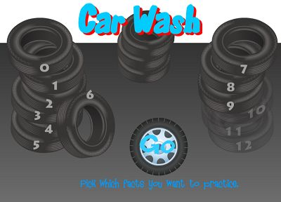 Welcome to Car Wash Subtraction | Multiplication.com