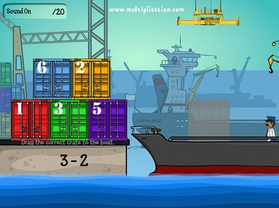 Solve the Facts in Cargo Security Subtraction | Multiplication.com