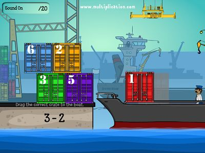Load the Right Crates in Cargo Security Subtraction | Multiplication.com