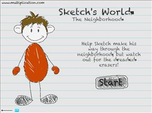Sketchs World Step 1