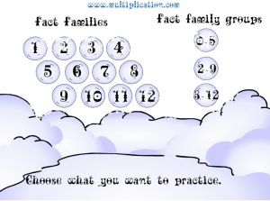 Choose a Fact for Snowball Fight | Multiplication.com