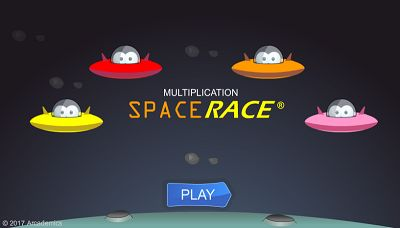 Welcome to Space Race | Multiplication.com