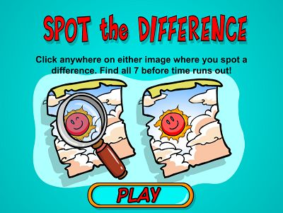 Welcome to Spot the Difference | Multiplication.com