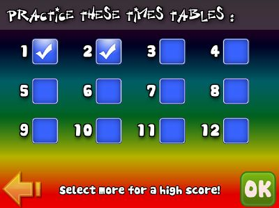 Choose the Facts for Super Math Adventure Multiplication | Multiplication.com