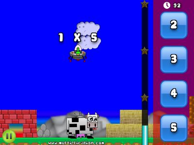 Solve the Facts in Super Math Adventure Multiplication | Multiplication.com