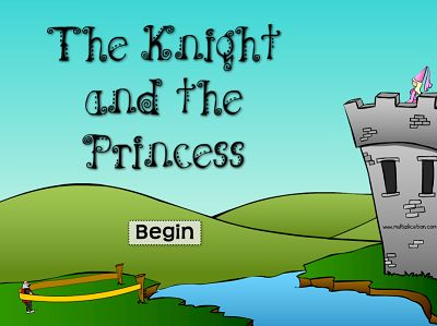 Welcome to The Knight and the Princess | Multiplication.com
