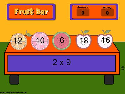 Help Wade Pick the Right Snack in Wade's Workout | Multiplication.com