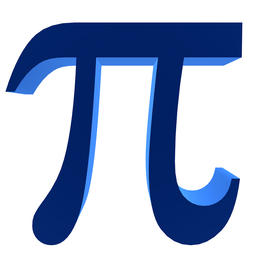 it is often associated with pi 3 14 or this symbol
