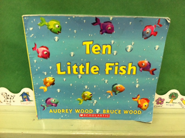 Ten little fish counting book and math activity for Ten little fish
