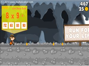 Cave Run Multiplication Step 3