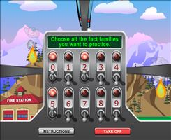 Choose a Fact for Chopper Challenge Forest Fire Multiplication | Multiplication.com