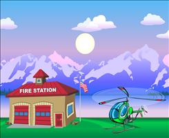 Get Ready to Play Chopper Challenge Forest Fire Multiplication | Multiplication.com