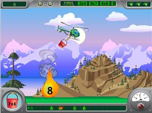 Find the Right Fire in Chopper Challenge Forest Fire Multiplication | Multiplication.com