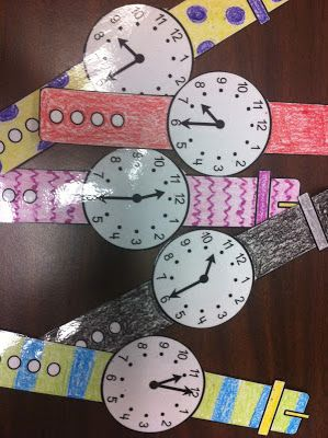 Activities for teaching telling time