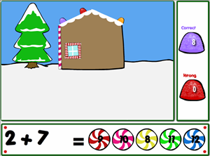 Solve the Addition Problems in Holiday Fun Addition | Multiplication.com