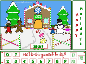 Welcome to Holiday Fun Subtraction | Multiplication.com