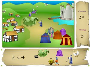 Solve the Problems in Knights of Math | Multiplication.com