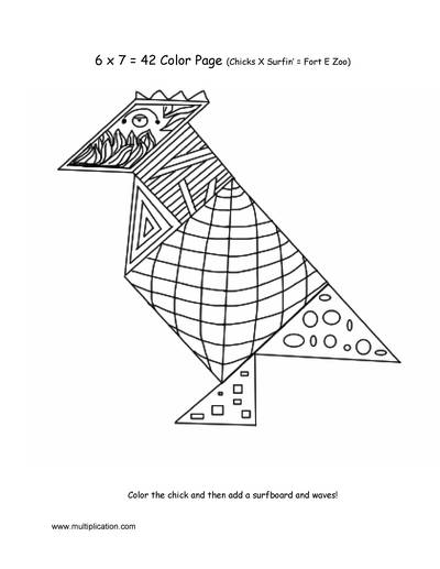 tangram coloring pages - photo#21