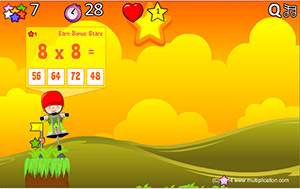 Solve Problems in Multiplication Pogo | Multiplication.com