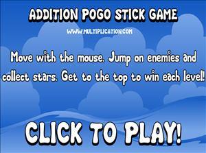 Addition Pogo Step 1