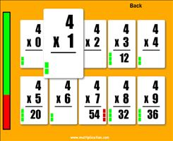 Worksheets Flashcards Of Multiplication quick flash cards ii free online multiplication com step 2