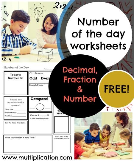 Numerical order worksheets