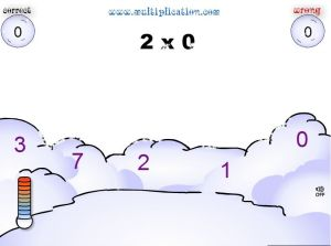 Solve the Multiplication Problems in Snowball Fight | Multiplication.com