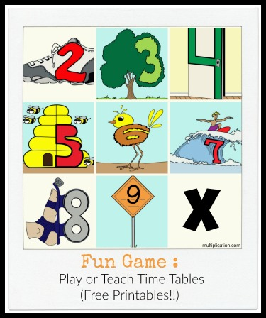 Number Names Worksheets » Free Multiplication Facts Games - Free ...