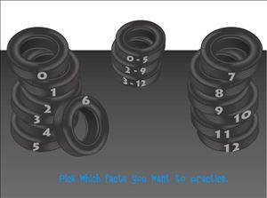 Tonys Tires Multiplication Game Step 2