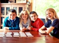 Card games for times table practice