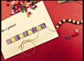 patterns, math patterns, beading with children, primary math, cool math, fun math