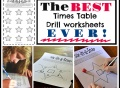 drill, worksheets, multiplication, times tables