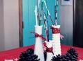 Christmas centerpiece, holiday centerpiece