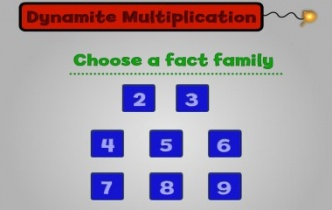 Play Dynamite Multiplication