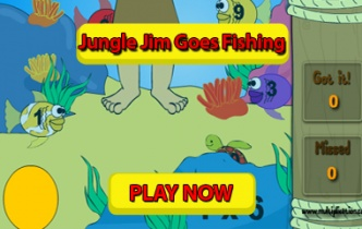 Play Jungle Jim Goes Fishing